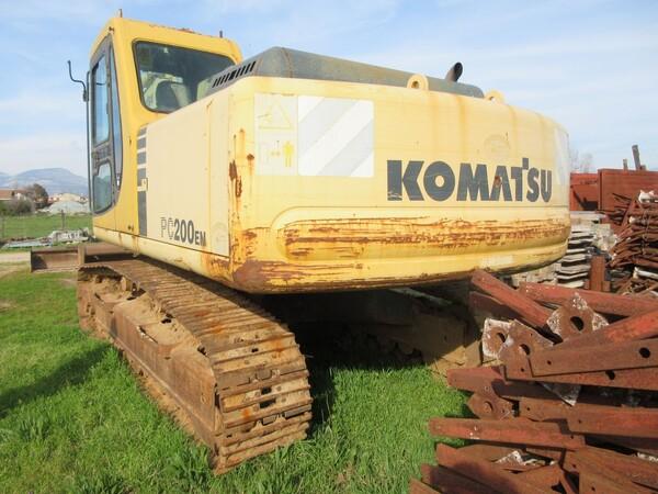 11#6166 Escavatore Komatsu PC200 in vendita - foto 5