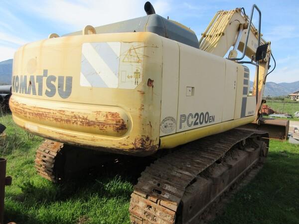 11#6166 Escavatore Komatsu PC200 in vendita - foto 6