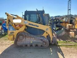 Komatsu CK25 skid steer loader - Lot 14 (Auction 6166)