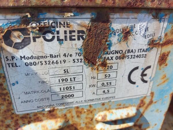 17#6166 Trapano Hilti e attrezzature edili in vendita - foto 14
