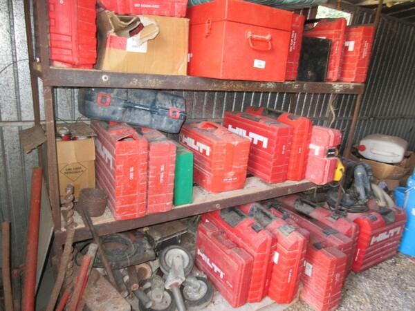 17#6166 Trapano Hilti e attrezzature edili in vendita - foto 65