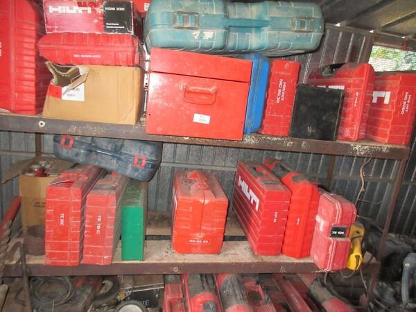 17#6166 Trapano Hilti e attrezzature edili in vendita - foto 66