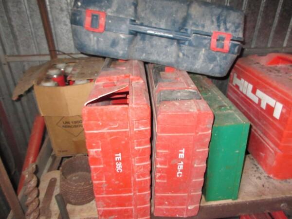 17#6166 Trapano Hilti e attrezzature edili in vendita - foto 68