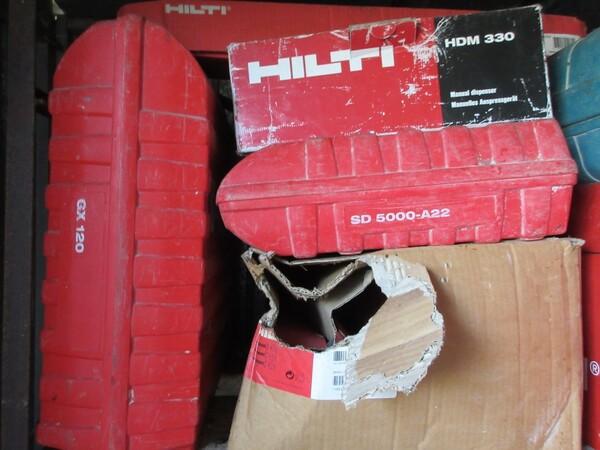 17#6166 Trapano Hilti e attrezzature edili in vendita - foto 73