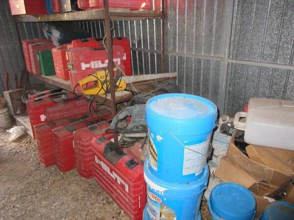 17#6166 Trapano Hilti e attrezzature edili in vendita - foto 80