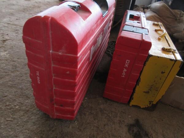 17#6166 Trapano Hilti e attrezzature edili in vendita - foto 126