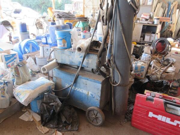 17#6166 Trapano Hilti e attrezzature edili in vendita - foto 129