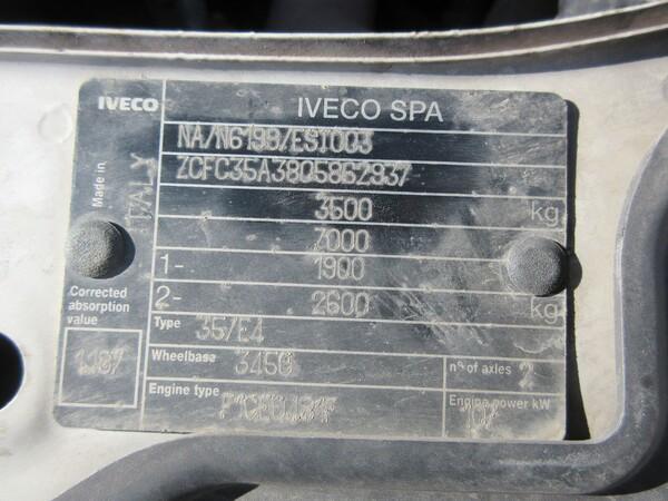 7#6166 Autocarro Iveco 35/E4 in vendita - foto 14