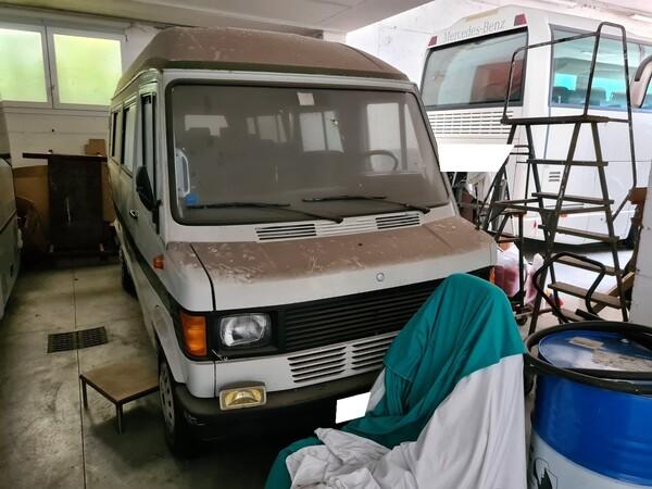 11#6173 Autoveicolo per trasporto persone 9 posti Mercedes Benz 307 in vendita - foto 1