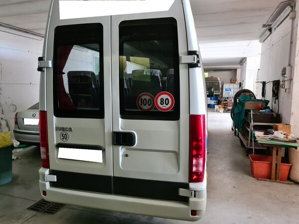8#6173 Autobus 17 posti Iveco A50C/16 in vendita - foto 4