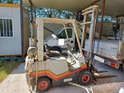 Fiat forklift - Lote 16 (Subasta 6186)