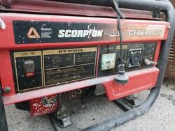Scorpion Generator electrical generator and Boker pedestrian tunnel - Lote 3 (Subasta 6193)