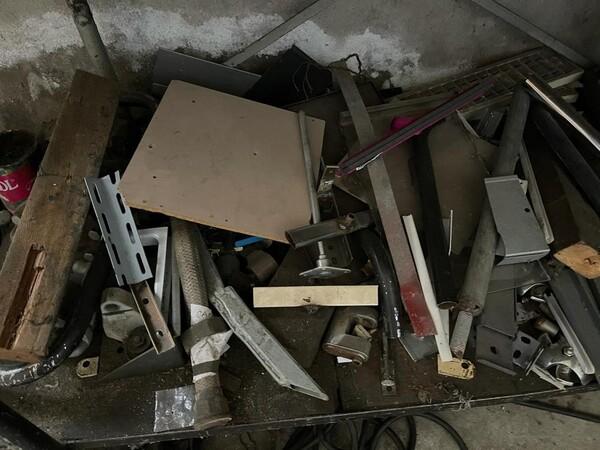 10#6196 Attrezzatura da officina e pressa per rifiuti in vendita - foto 3