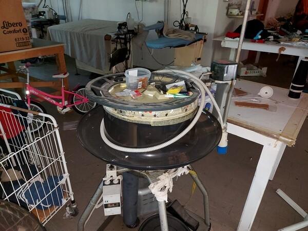 2#6201 Macchinari tessili e arredamento ufficio in vendita - foto 29
