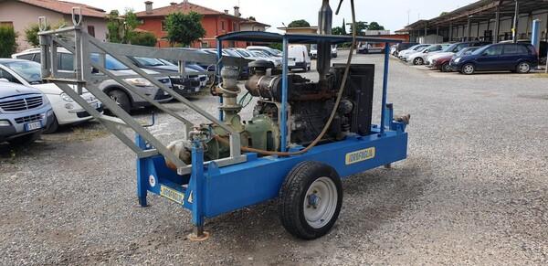 2#6210 Gruppo motopompa Idrofoglia e centralina d'allarme Tecnoalarm  TPI-256 in vendita - foto 1