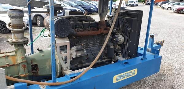 2#6210 Gruppo motopompa Idrofoglia e centralina d'allarme Tecnoalarm  TPI-256 in vendita - foto 3