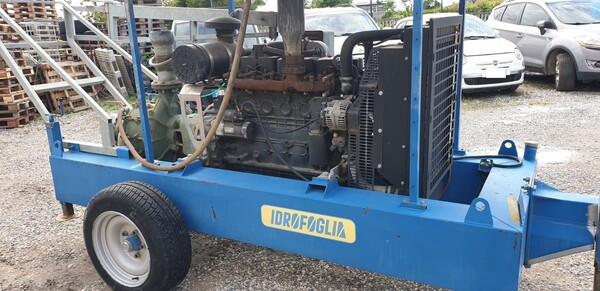 2#6210 Gruppo motopompa Idrofoglia e centralina d'allarme Tecnoalarm  TPI-256 in vendita - foto 4
