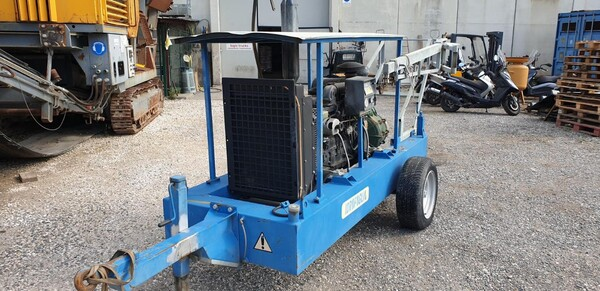 2#6210 Gruppo motopompa Idrofoglia e centralina d'allarme Tecnoalarm  TPI-256 in vendita - foto 8