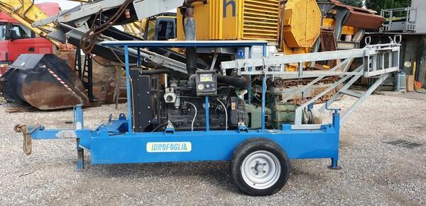 2#6210 Gruppo motopompa Idrofoglia e centralina d'allarme Tecnoalarm  TPI-256 in vendita - foto 10