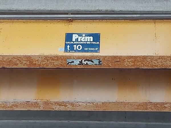 7#6219 Culla metallica e carroponti Prim in vendita - foto 4