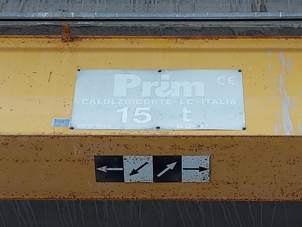 7#6219 Culla metallica e carroponti Prim in vendita - foto 25