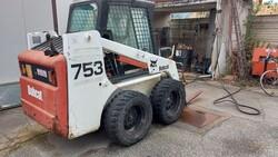 Bobcat 753 skid steer loader - Lot 24 (Auction 6222)