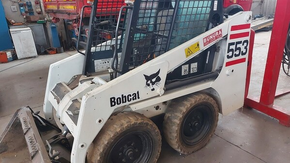 25#6222 Minipala Bobcat 553E in vendita - foto 2