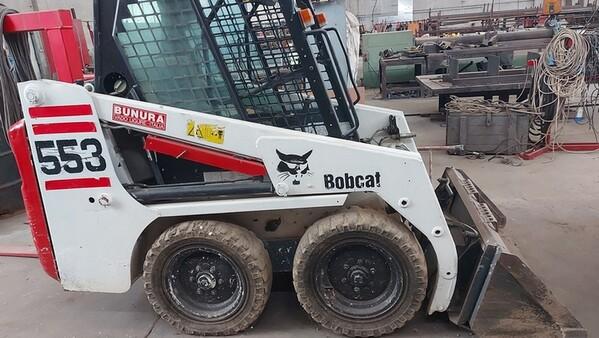 25#6222 Minipala Bobcat 553E in vendita - foto 3