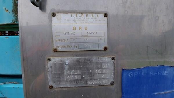 32#6222 Gru a torre Cattaneo in vendita - foto 6