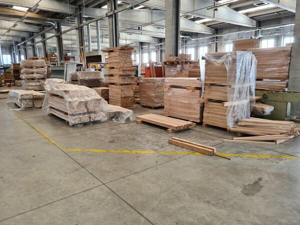 2#6224 Giacenze di magazzino di materiale legnoso in vendita - foto 3