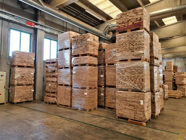 2#6224 Giacenze di magazzino di materiale legnoso in vendita - foto 4