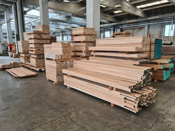2#6224 Giacenze di magazzino di materiale legnoso in vendita - foto 11