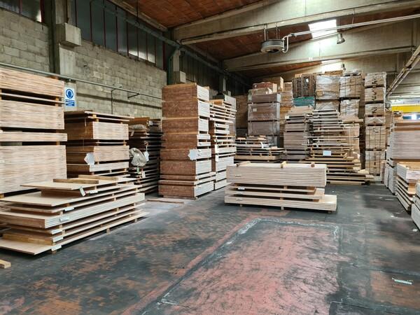 2#6224 Giacenze di magazzino di materiale legnoso in vendita - foto 17
