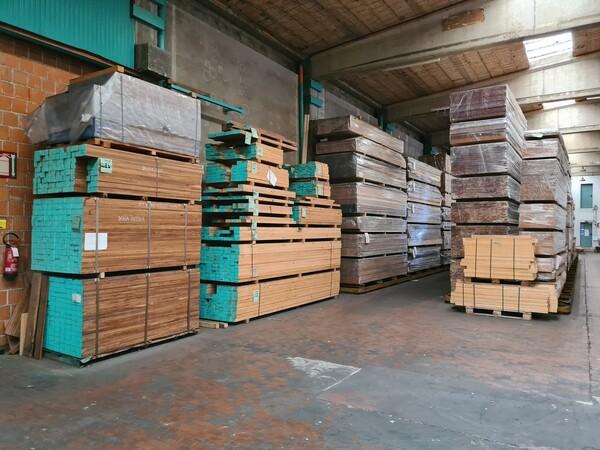 2#6224 Giacenze di magazzino di materiale legnoso in vendita - foto 19