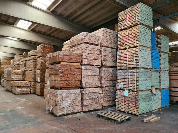 2#6224 Giacenze di magazzino di materiale legnoso in vendita - foto 22