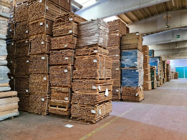 2#6224 Giacenze di magazzino di materiale legnoso in vendita - foto 23