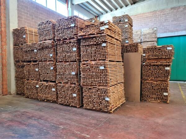 2#6224 Giacenze di magazzino di materiale legnoso in vendita - foto 25