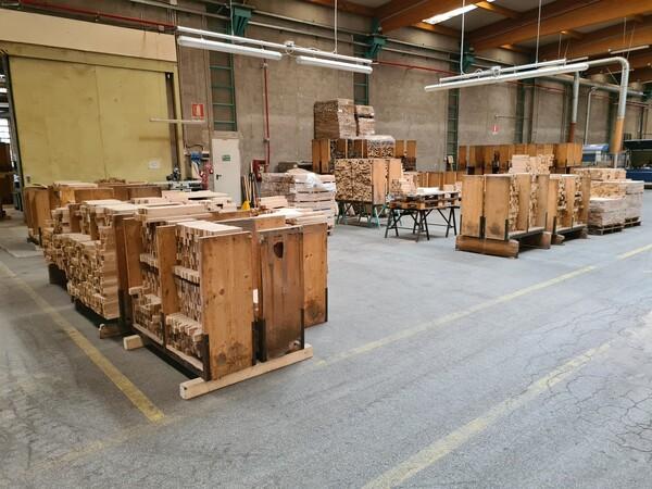 2#6224 Giacenze di magazzino di materiale legnoso in vendita - foto 32