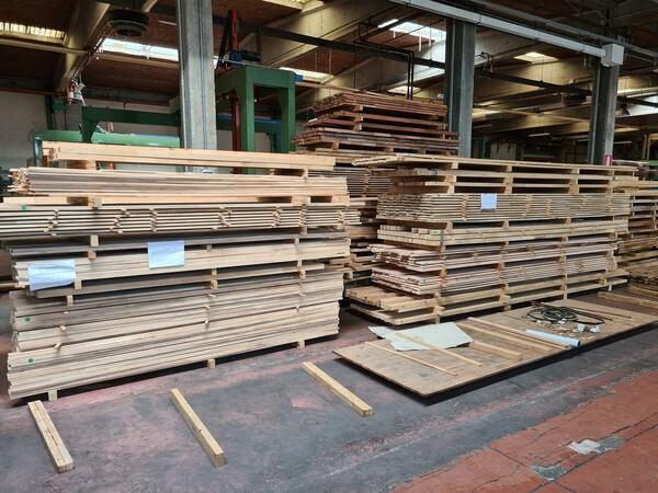 2#6224 Giacenze di magazzino di materiale legnoso in vendita - foto 38
