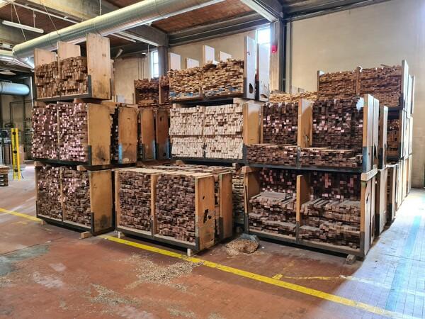 2#6224 Giacenze di magazzino di materiale legnoso in vendita - foto 40