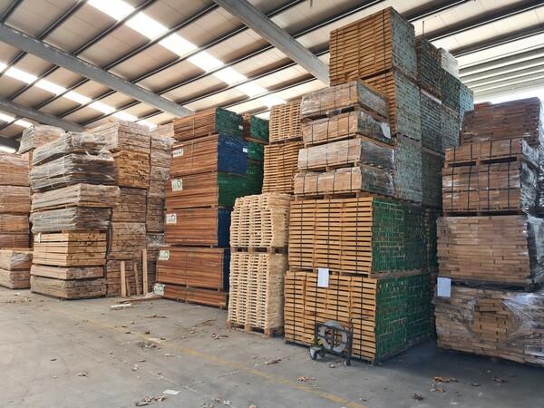 2#6224 Giacenze di magazzino di materiale legnoso in vendita - foto 44