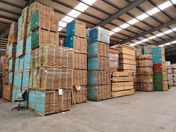 2#6224 Giacenze di magazzino di materiale legnoso in vendita - foto 46