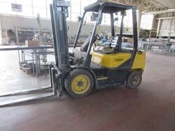 Daewoo d30s forklift truck - Lot 18 (Auction 6230)
