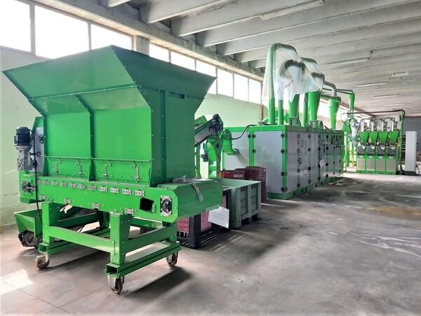 1#6231 Impianto per trattamento rifiuti RAEE Guidetti in vendita - foto 2