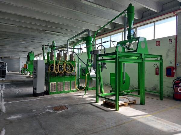 1#6231 Impianto per trattamento rifiuti RAEE Guidetti in vendita - foto 3