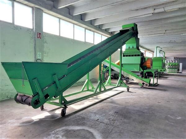 1#6231 Impianto per trattamento rifiuti RAEE Guidetti in vendita - foto 4