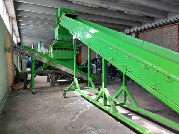 1#6231 Impianto per trattamento rifiuti RAEE Guidetti in vendita - foto 7