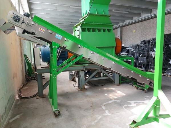 1#6231 Impianto per trattamento rifiuti RAEE Guidetti in vendita - foto 8