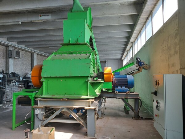 1#6231 Impianto per trattamento rifiuti RAEE Guidetti in vendita - foto 11