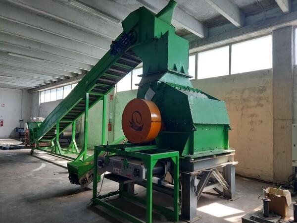 1#6231 Impianto per trattamento rifiuti RAEE Guidetti in vendita - foto 12